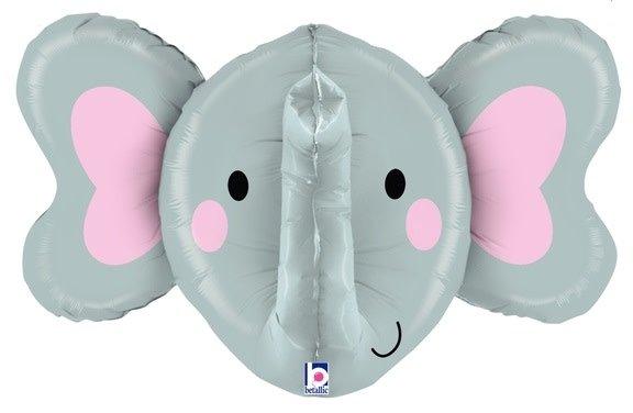 SMP dimensional elephant foil balloon 86 cm