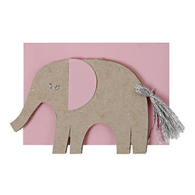 MERIMERI Pink elephant enclosure