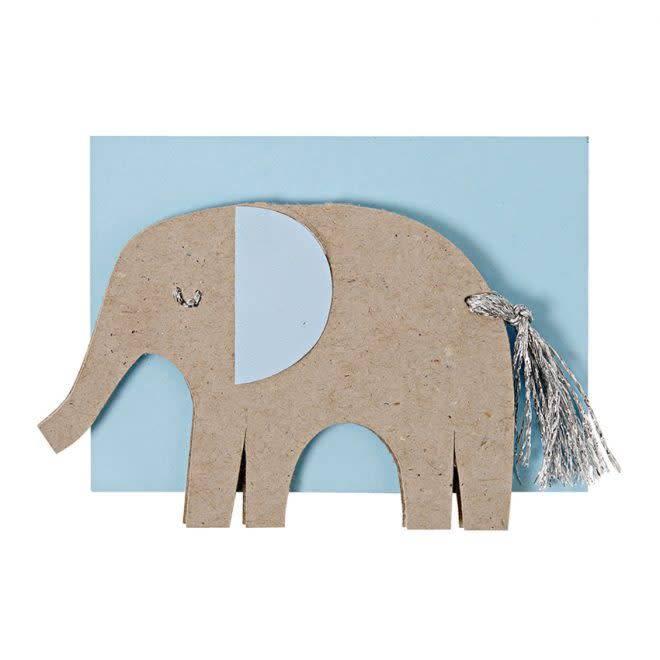 MERIMERI Blue elephant enclosure