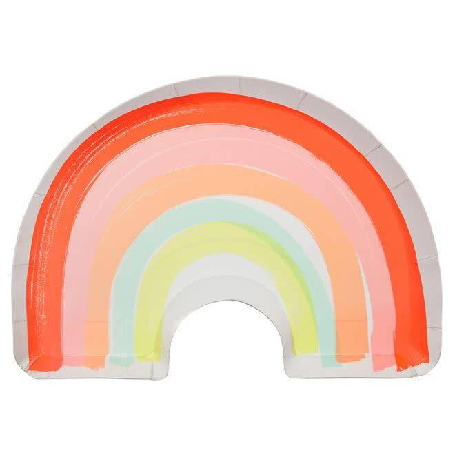 MERIMERI Rainbow plates