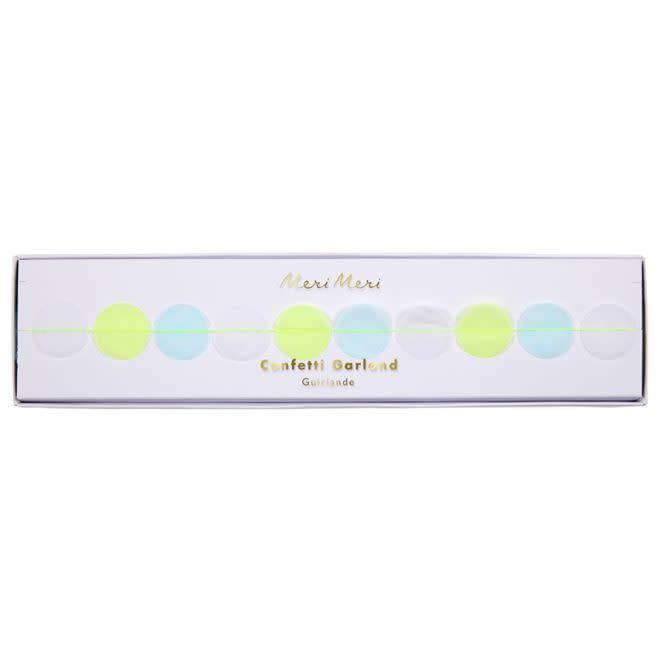 MERIMERI Neon confetti garland