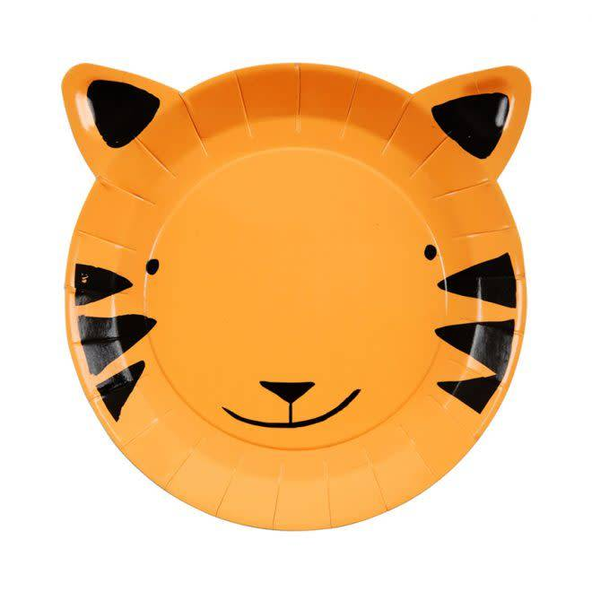 MERIMERI Tiger plates