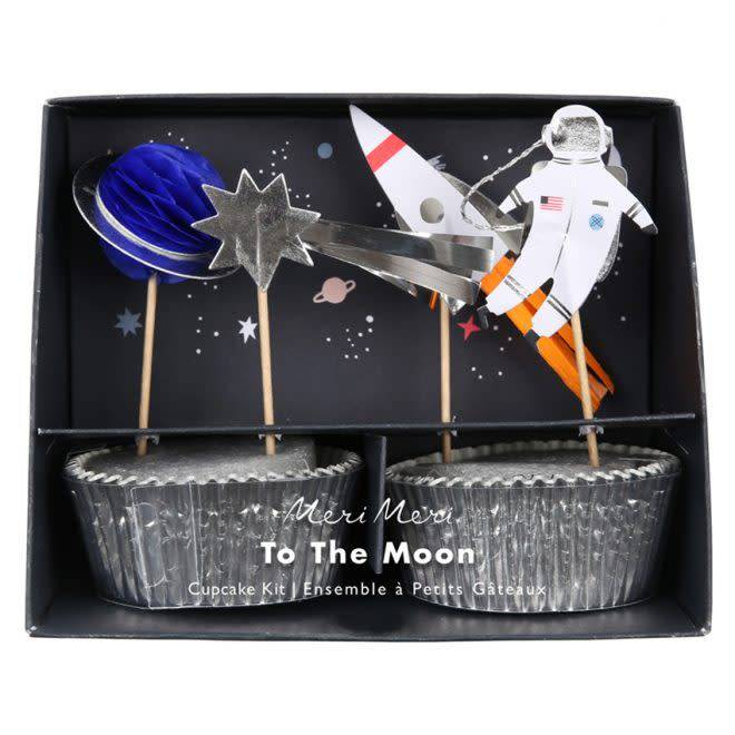 MERIMERI Space cupcake kit