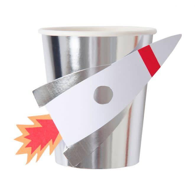 MERIMERI Space rocket cups