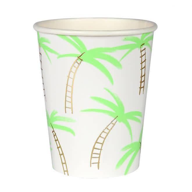 MERIMERI Palm tree cups