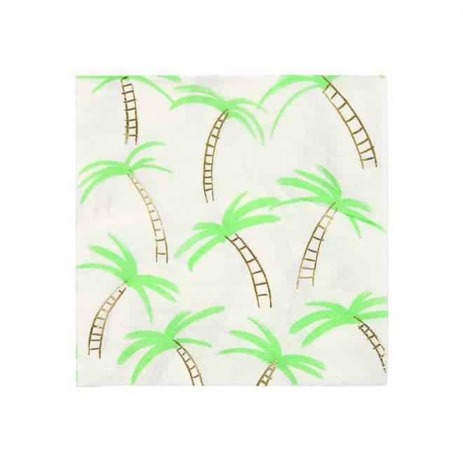 MERIMERI Palm tree napkins S