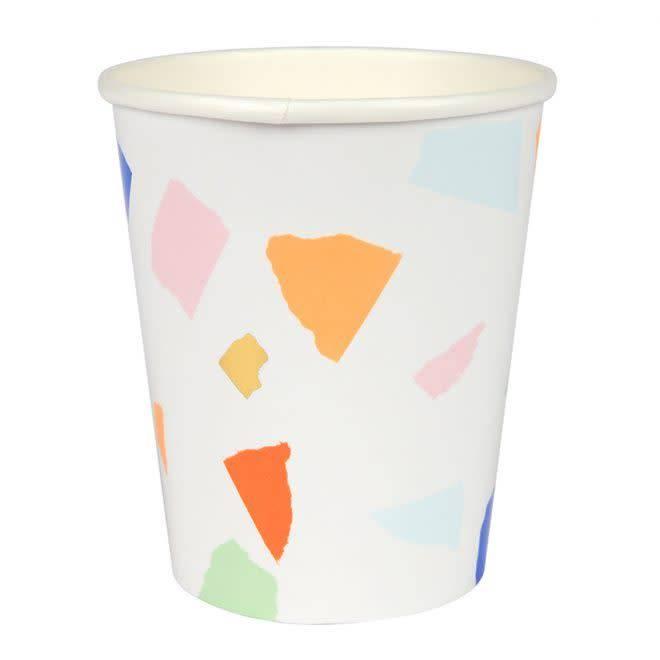 MERIMERI Multi terrazzo cups