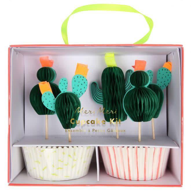 MERIMERI Cactus cupcake kit