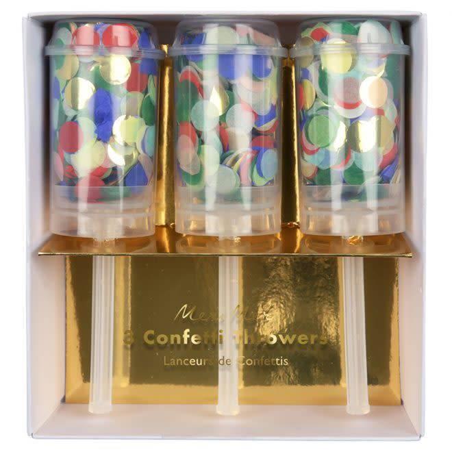 MERIMERI Rainbow confetti throwers