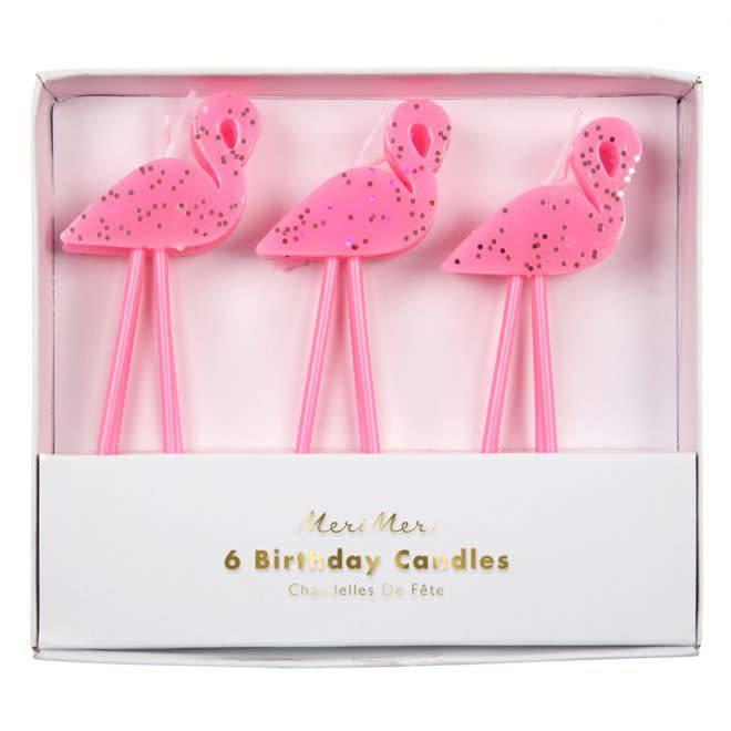MERIMERI Flamingo candles