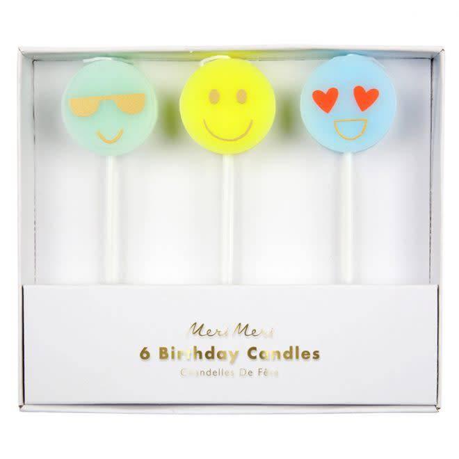 MERIMERI Emoji candles