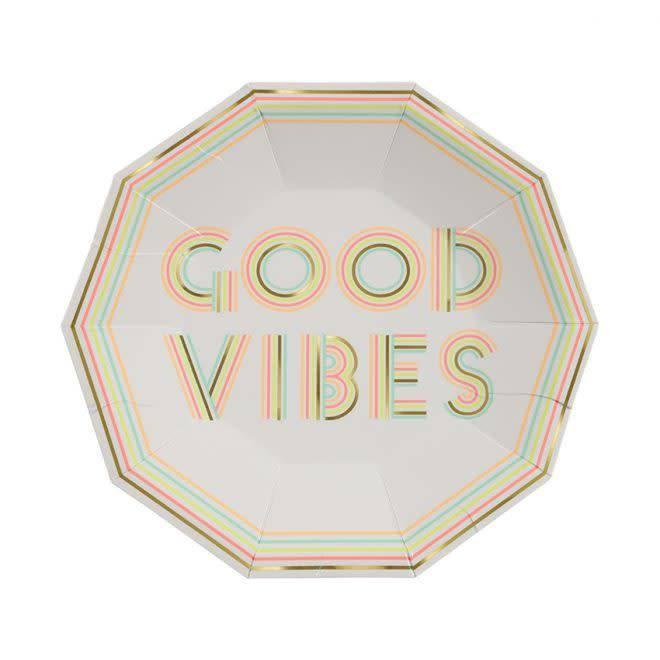 MERIMERI Good vibes plates
