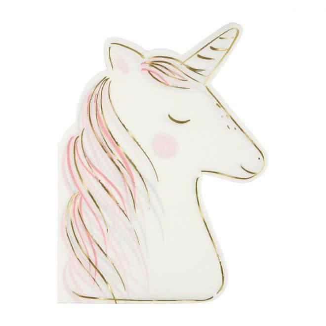 MERIMERI Unicorn napkins