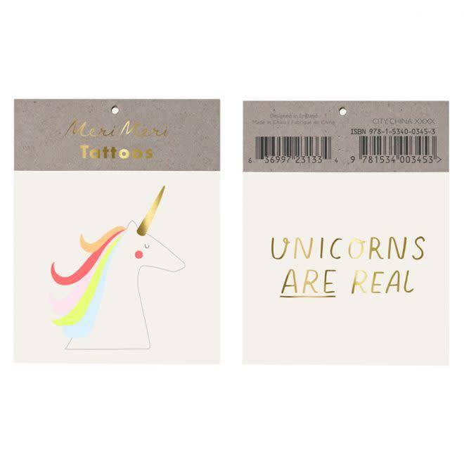 MERIMERI Unicorns are real tattoos