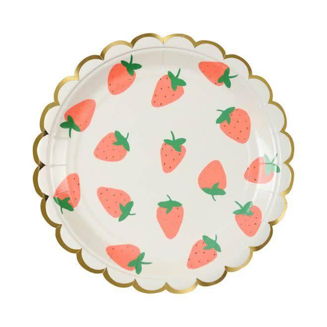 MERIMERI Strawberry plates S