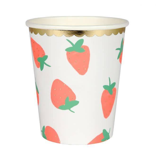 MERIMERI Strawberry cups