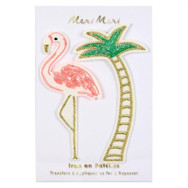 MERIMERI Flamingo patches