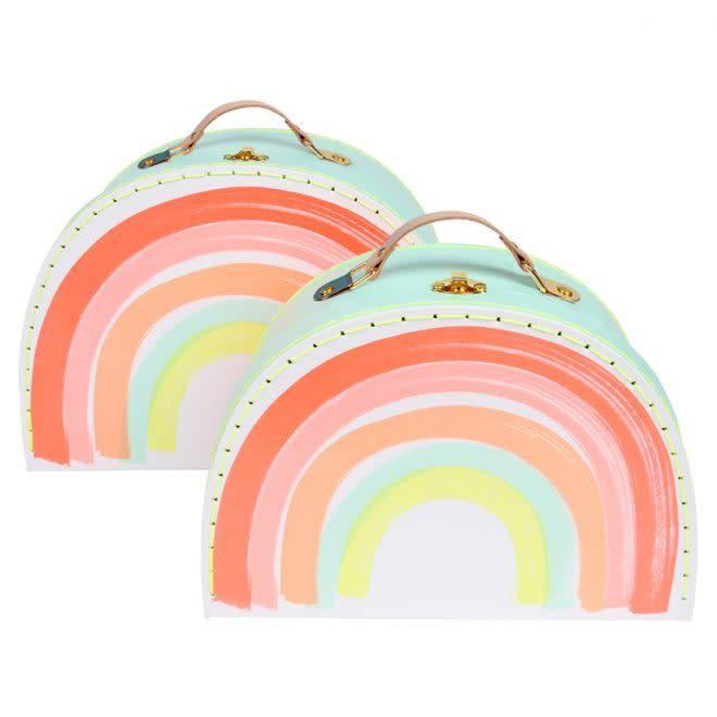 MERIMERI Rainbow suitcase set
