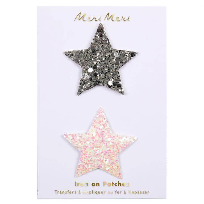 MERIMERI Glitter stars patches