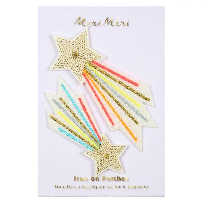 MERIMERI Shooting stars patches