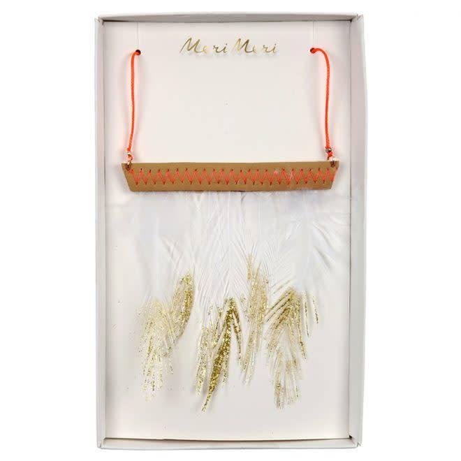 MERIMERI Feather necklace