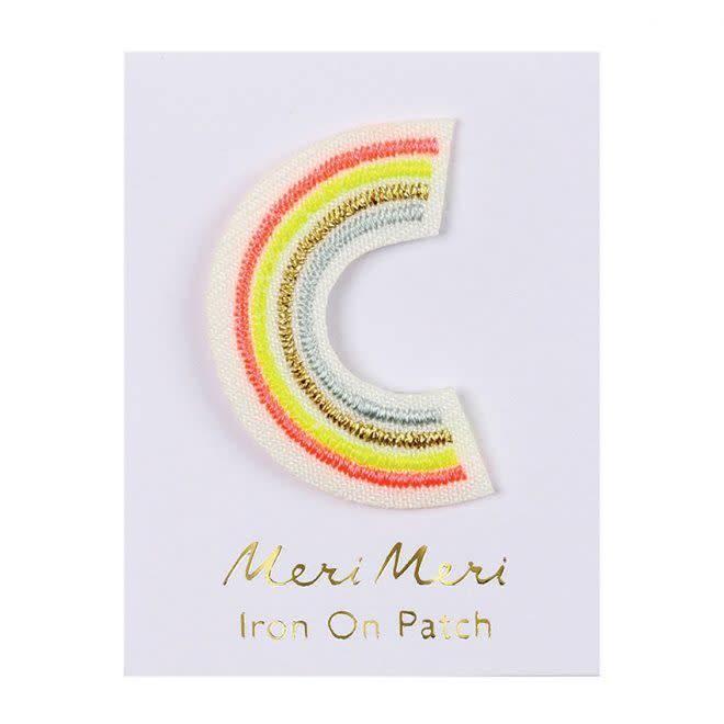 MERIMERI Alphabet patches C