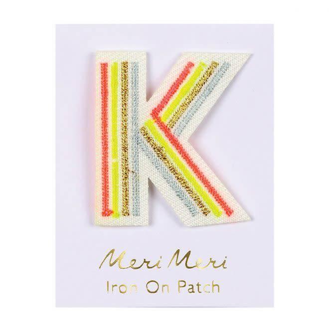 MERIMERI Alphabet patches K