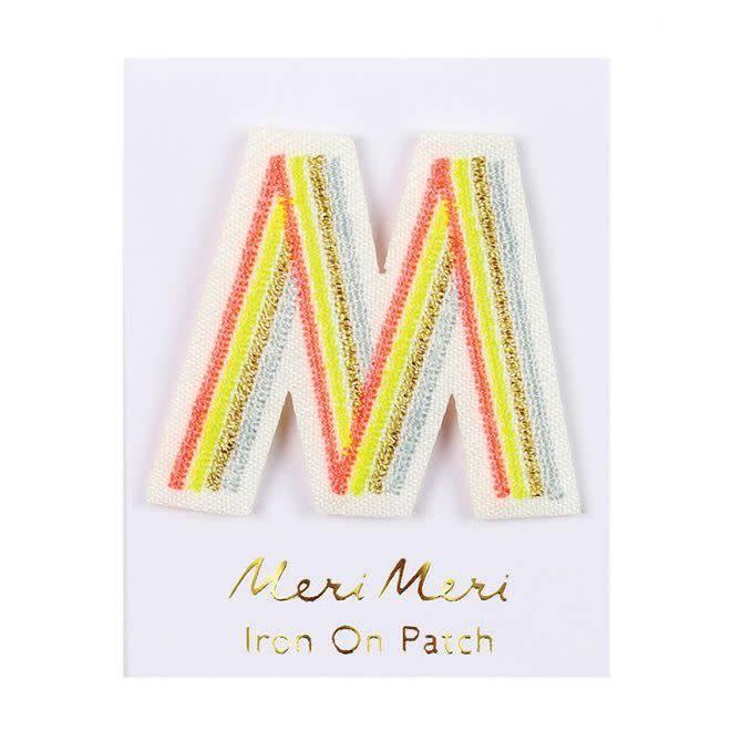 MERIMERI Alphabet patches M