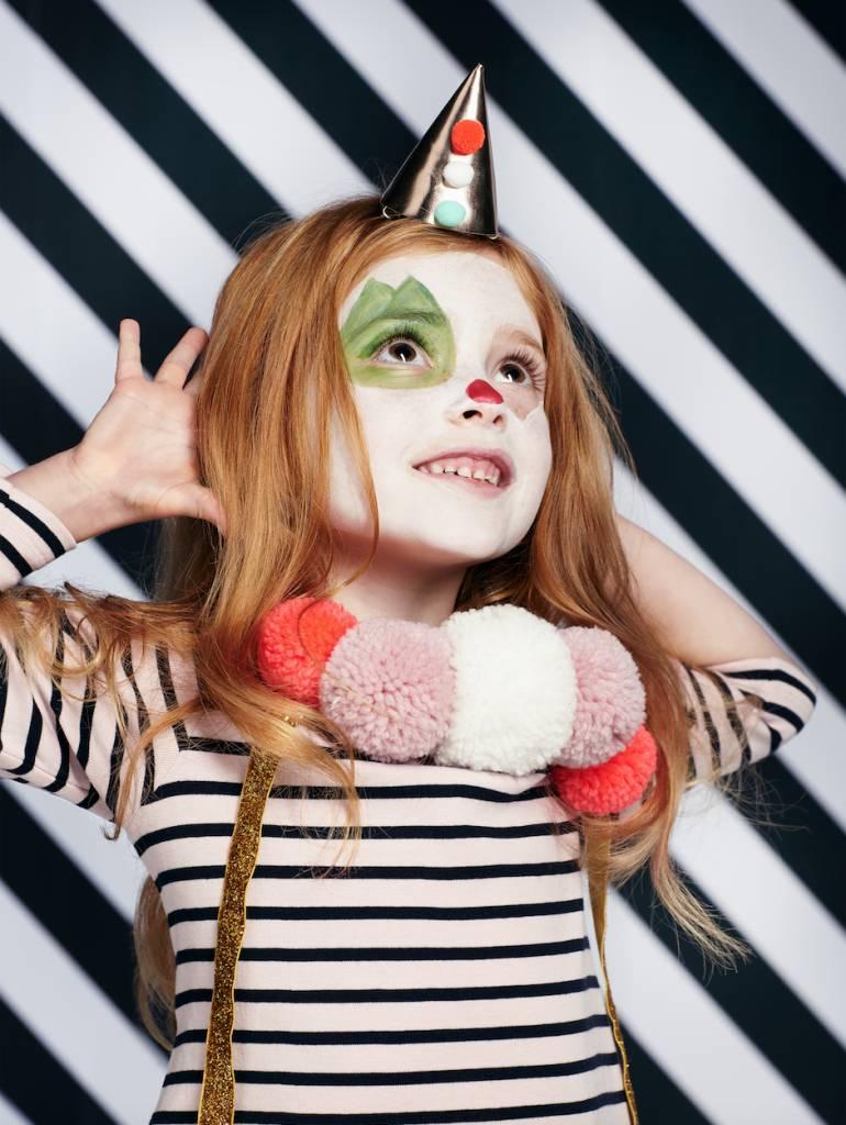 MERIMERI Pierrot hat hair clip