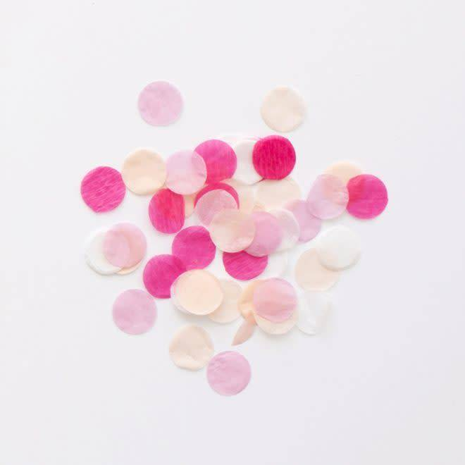 MERIMERI pink party confetti