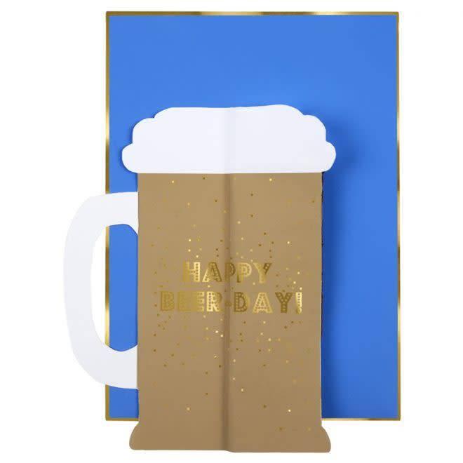 MERIMERI Beer honeycomb card
