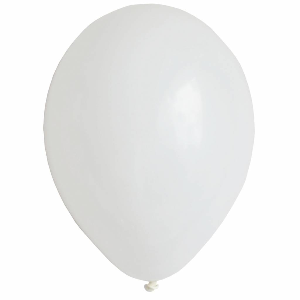 MY LITTLE DAY 10 white balloons 30 cm