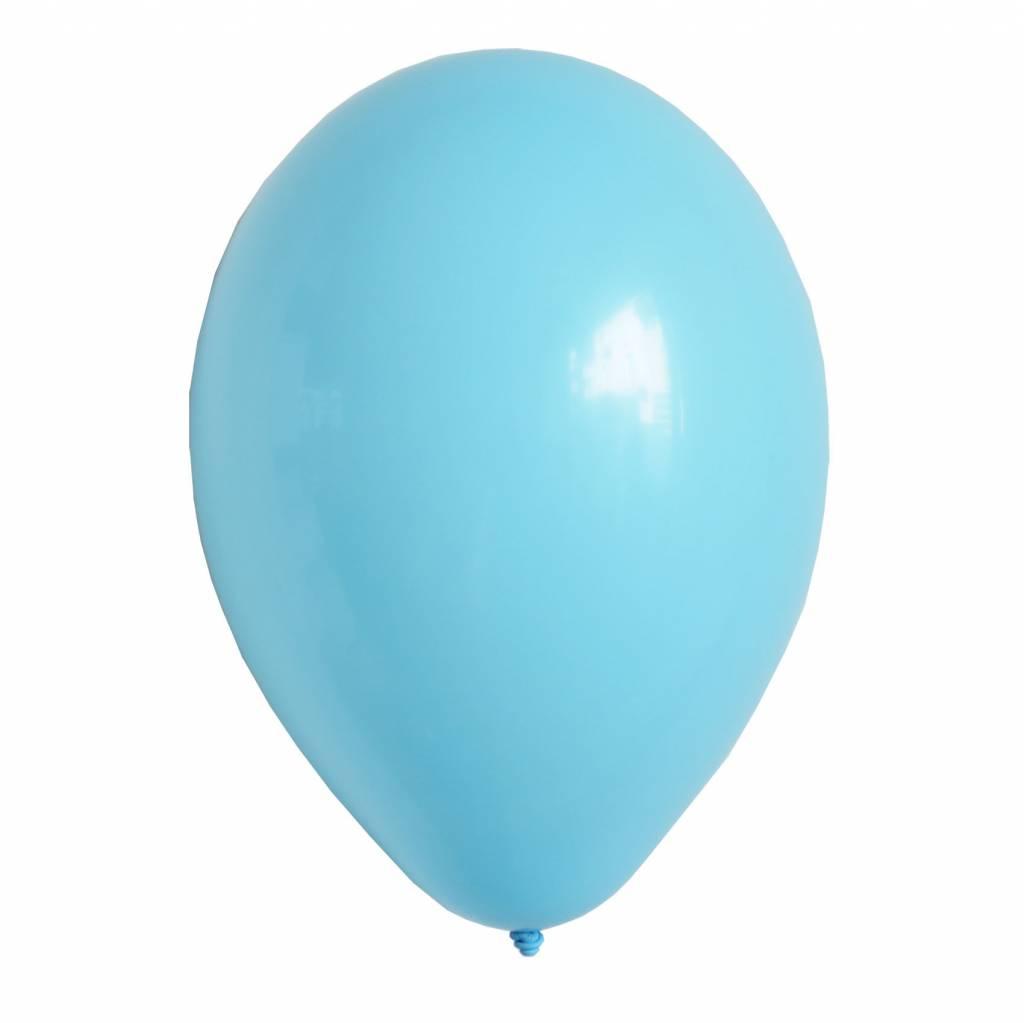 MY LITTLE DAY 10 light blue balloons 30 cm