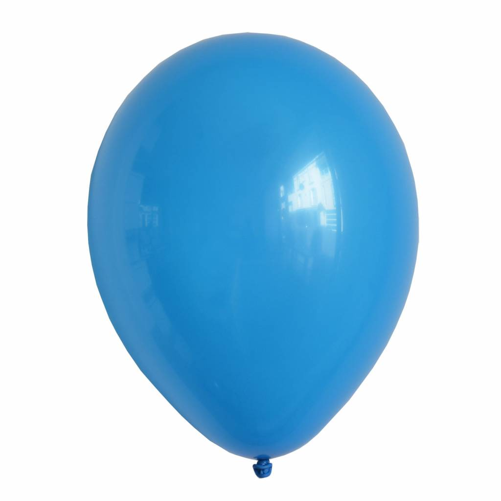 MY LITTLE DAY 10 blue balloons 30 cm
