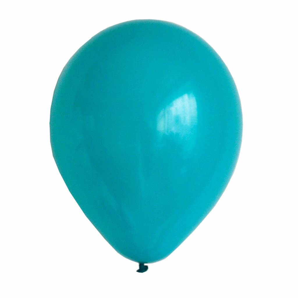 MY LITTLE DAY 10 turquoise balloons 30 cm