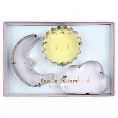 MERIMERI Weather cookie cutters
