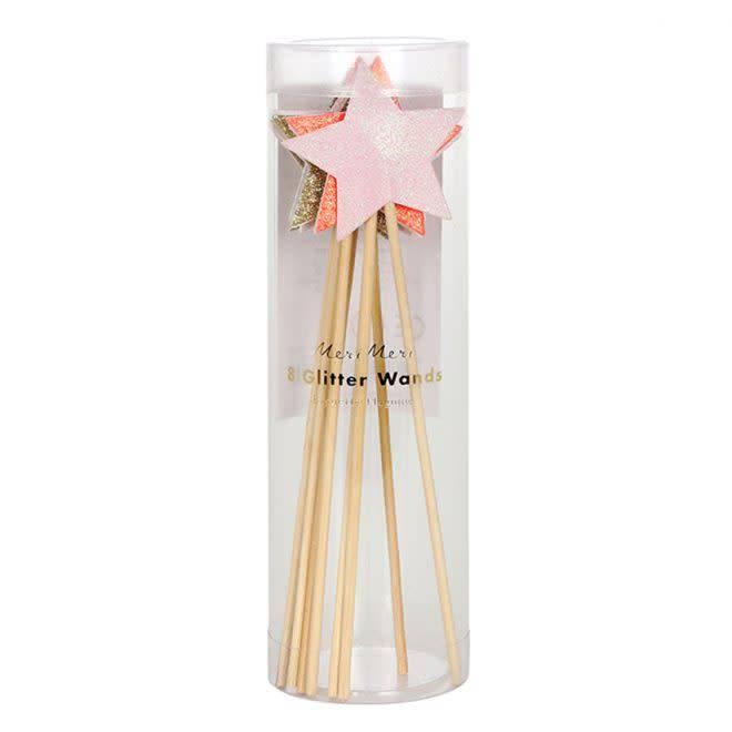 MERIMERI Glitter star wands