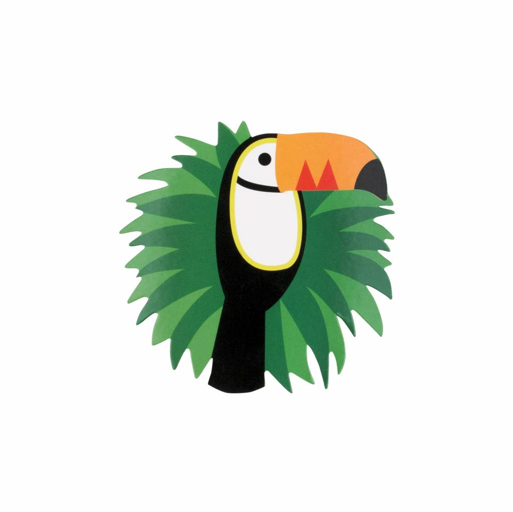 MY LITTLE DAY 8 invitations toucan
