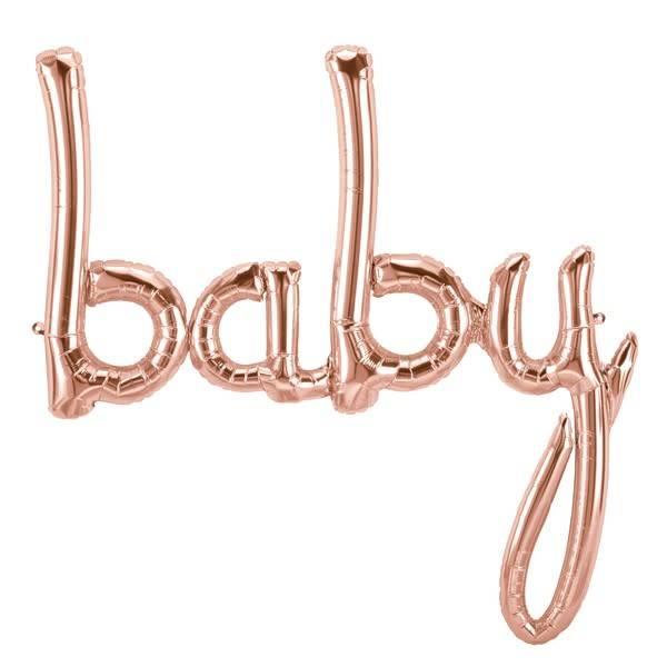 SMP baby script rose gold 86 cm