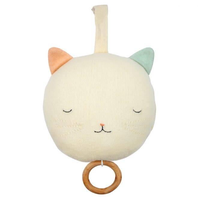MERIMERI Knitted musical cat
