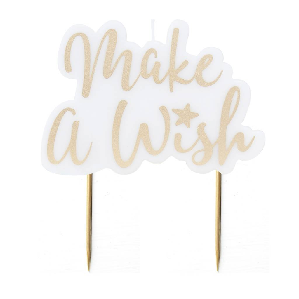 GINGERRAY GOLD MAKE A WISH CANDLE - PICK AND MIX