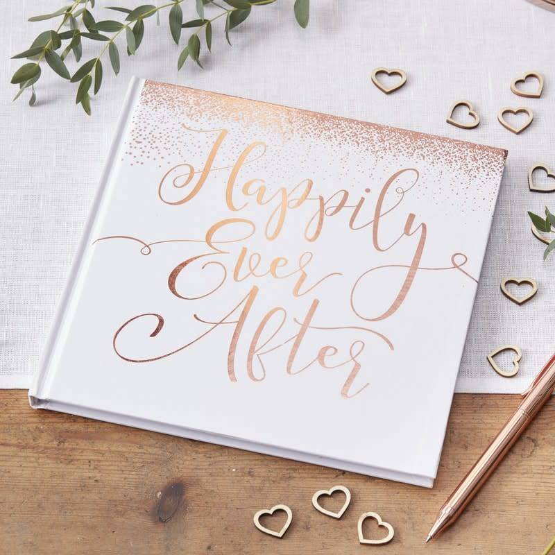 GINGERRAY guest book happily ever after- beautiful botanics