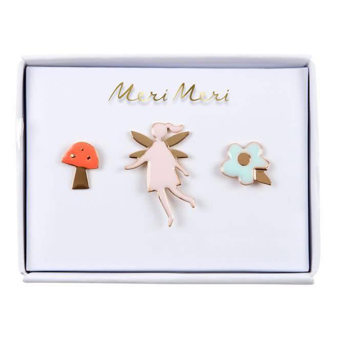 MERIMERI Fairy enamel pins