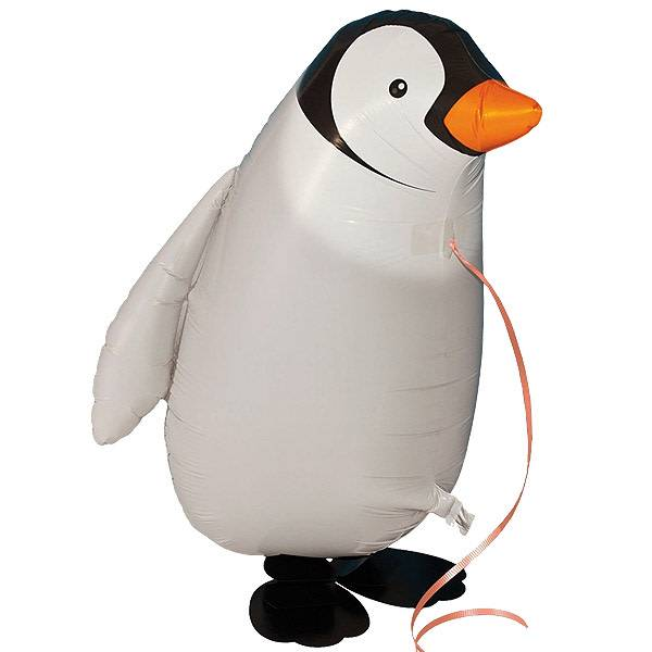 SMP walking foil balloon penguin 50 cm
