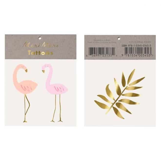 MERIMERI Flamingos tattoos