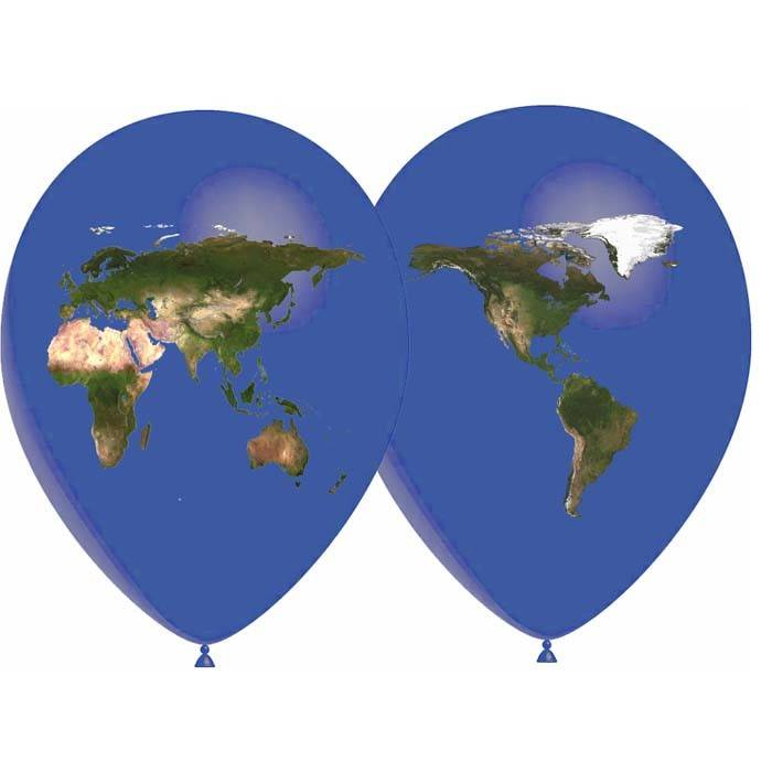 SMP globe balloons 5 x