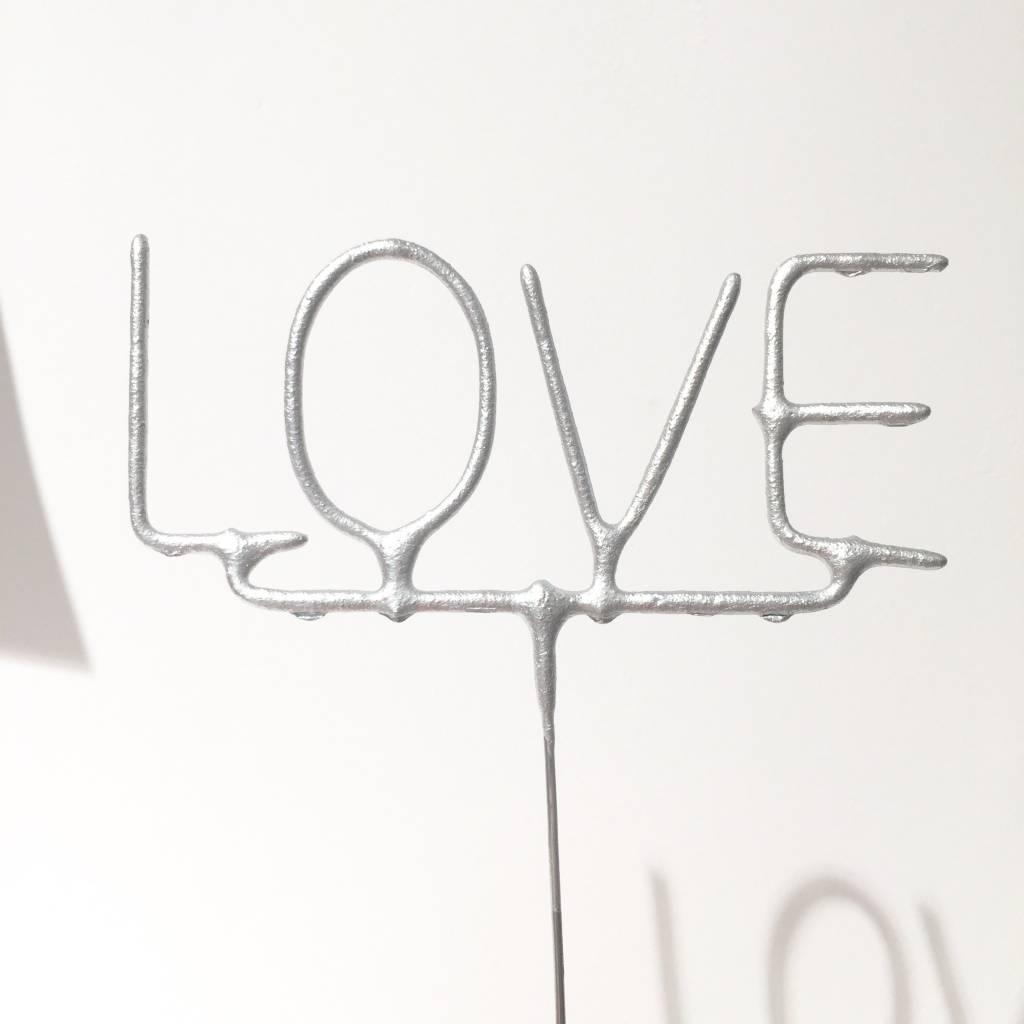 FT silver love sparkler