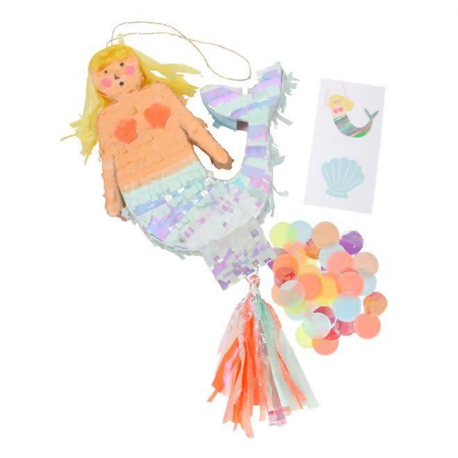 MERIMERI Mermaid piñata favor