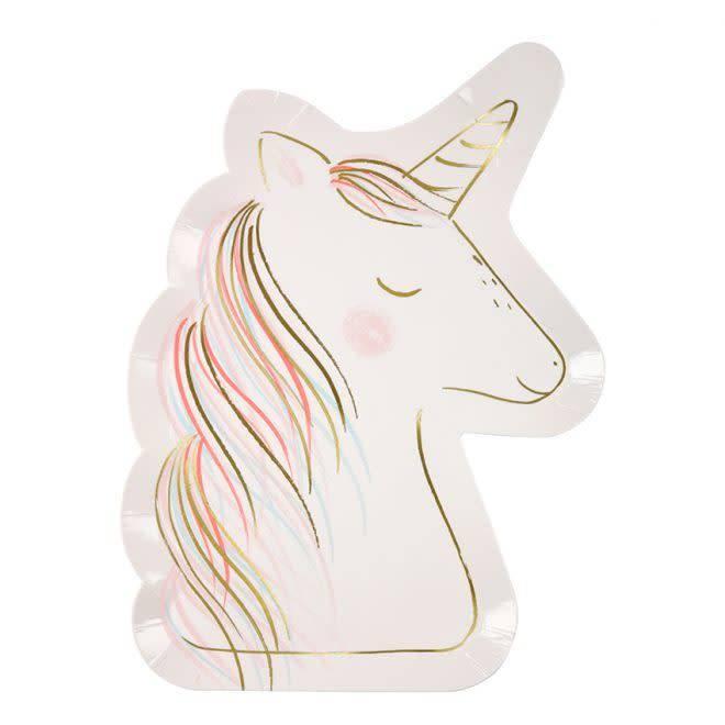 MERIMERI Unicorn plates