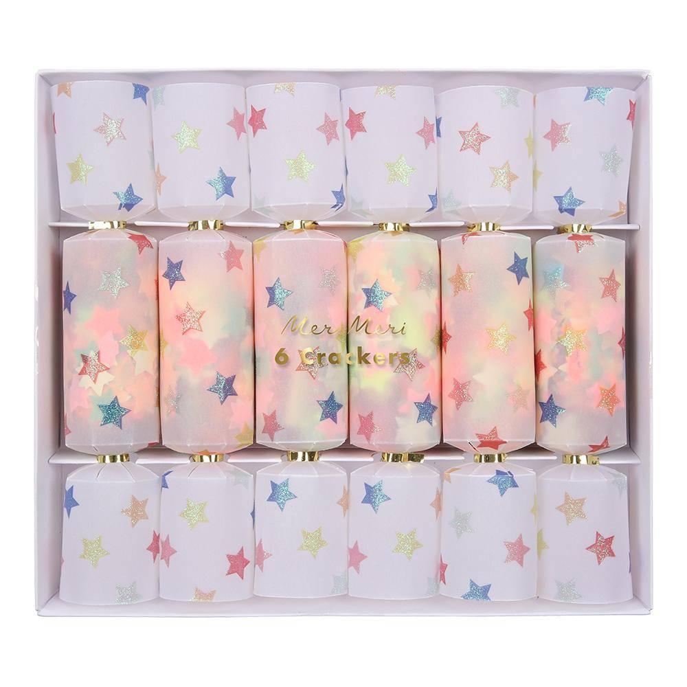 MERIMERI Star confetti crackers